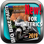 Big Bike Parts 209 Metric Catalog
