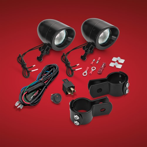 Black Mini Halogen Light Kit