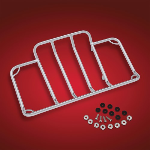 Chrome Luggage Rack for Indian