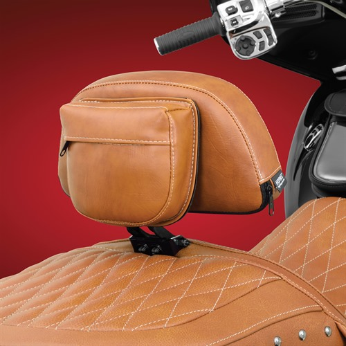 Smart Mount Backrest on Indian (Back View)