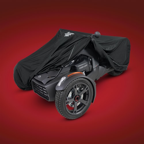 Black Cover On Can-Am Ryker (pulled back)