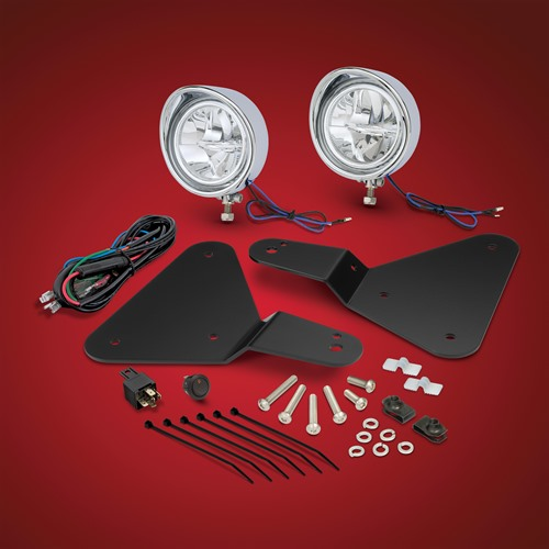 Chrome Focus Light Kit for Spyder F3