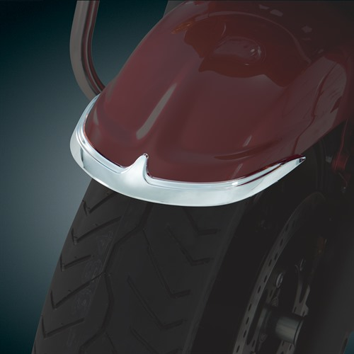 Front Fender Accent on Bike