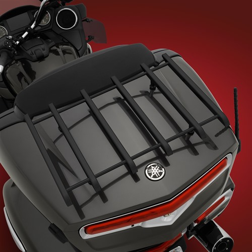 Black Vantage Rack on Yamaha Star Venture