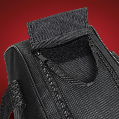 Saddlebag Liner Double Zipper Detail