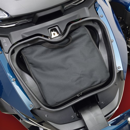 Front Trunk Liners On 2020 Spyder RT (Top Liner)
