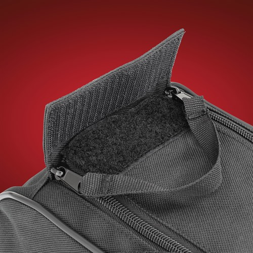 Saddlebag Liner Zipper Detail