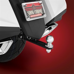 Vertical Receiver Hitch for GL1800 Goldwing from Big Bike Parts®