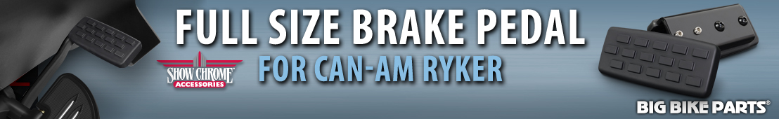 Full Size Brake Pedal For Can-Am Ryker - 