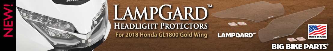 LampGard Headlight Protectors for 2018 Honda GL1800 Gold Wing -  