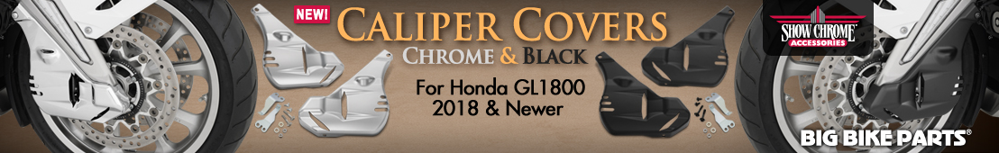 Caliper Covers For 2018 And Newer Honda GL1800 - 