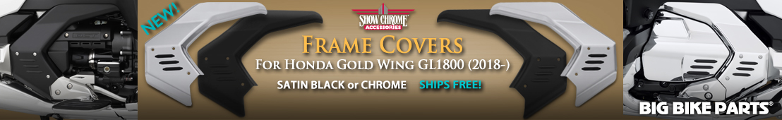 Frame Covers For Honda GL1800 Gold Wing -