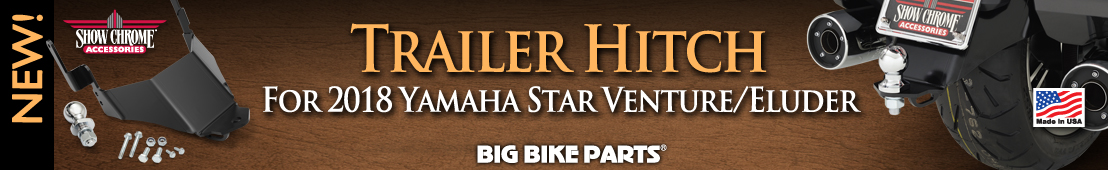 Trailer Hitch for 2018 Yamaha Star Venture and Eluder - 