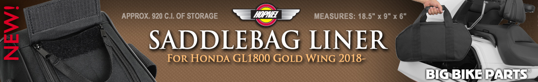 Saddlebag Liner For Honda GL1800 Gold Wing (2018-) - 