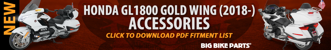 Accessories For The Honda GL1800 Gold Wing (2018 and newer)