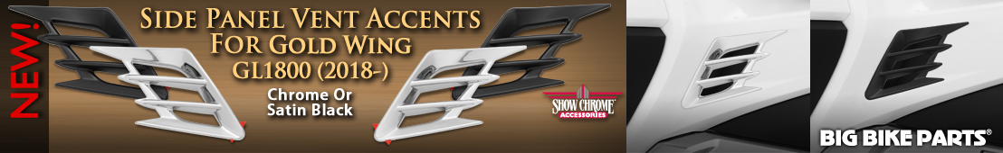 Side Panel Vent Accents For Honda GL1800 (2018-) -